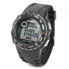 SYNOKE 99539 Multifunction Sports Wrist Watch - Black