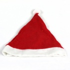 Stylish Nonwoven Christmas Hat - Red + White