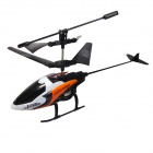 BZS126 USB Rechargeable 2.5-CH Mini IR R/C Helicopter Set - Orange + White