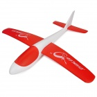 S186 Fashionable EPP Hand Launch Glider Airplane Toy - Red + White