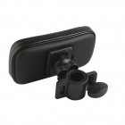 LSON IP5G-FS Bike Mount Holder + Waterproof Bag for Iphone 5 / 5c / 5s - Black