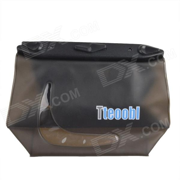 цена на Tteoobl T-020C Universal 20m Waterproof Waist Bag for Digital Camera / Cell Phone - Grey