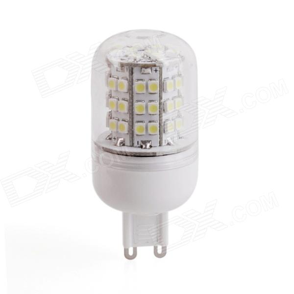 YMD-5 G9 380lm 6500K 60-SMD 3528 LED White Light Bulb - White + Yellow (220~240V)
