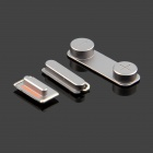 Replacement Volume Button + Mute Button + Switch Button for Black Iphone 5S - Grey