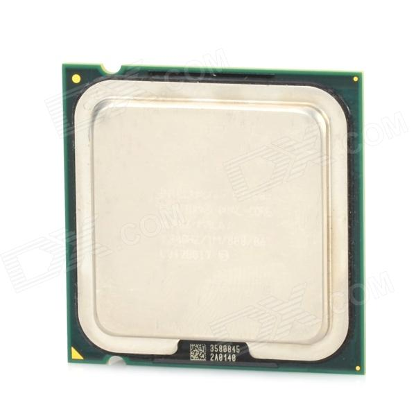Intel Pentium E2160 Arrandale Dual Core 1.8GHz LGA 775 65W CPU Processor - Yellow + Green + Silver