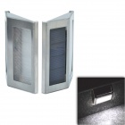 CMI LEH-44006B Light Control 0.15W 2-LED Solar Wall / Fence / Garden Lamps (2 PCS / 1 x AAA)