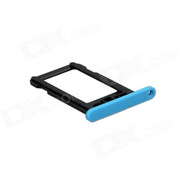 Запасной лоток для SIM-карт для Blue Iphone 5C - синий + черный