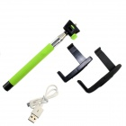 Z07-5 Wireless Bluetooth Mobile Phone Monopod for iOS 4.0 and Above System - Green