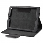 BT V3.0  Keyboard w/ PU Leather Case for IPAD AIR / AIR 2 - Black