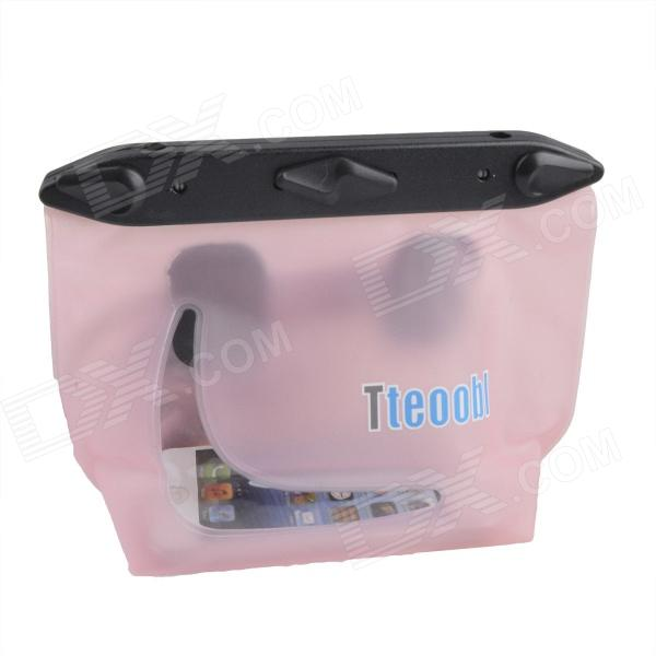 Tteoobl T-020C Universal 20m Waterproof Waist Bag for Digital Camera / Cell Phone - Pink