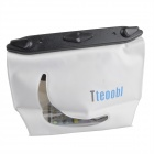 Tteoobl T-020C Universal 20m Waterproof Waist Bag for Digital Camera / Cell Phone - White