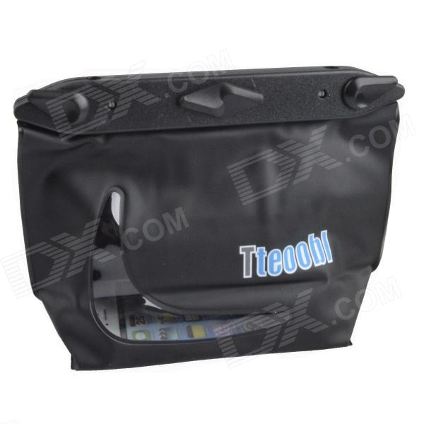 цена на Tteoobl T-020C Universal 20m Waterproof Waist Bag for Digital Camera / Cell Phone - Black