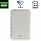 Blue 2 WA-007 USB Wi-Fi Share Box w/ SD / TF Card / Card Reader / Share / 5600mAh Power Bank - White