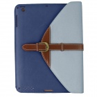 360 Degree Rotation Protective PU Leather Case Cover Stand w/ Auto-Sleep for Ipad 2 / 3 / 4 - Blue