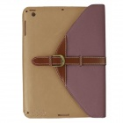 360 Degree Rotation Protective PU Leather Case Cover Stand w/ Auto-Sleep for Ipad 2 / 3 / 4 - Coffee