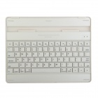 YBK-806 Bluetooth V3.0 Waterproof Dust-free 78-Key Keyboard for Ipad 2 / 3 / 4 - White