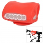 FJQXZ 3-Mode 7-LED Bicycle Bike Warning Safety Light - Red (3 x AAA Battery)