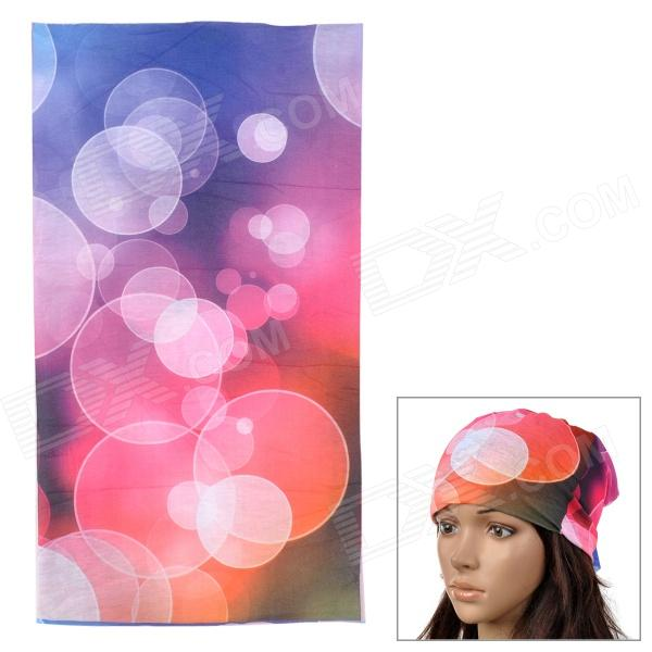 Acacia 6032518 Outdoor Cycling Seamless Polyester Head Scarf for Women - Multicolored