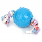 Super Cute Fun TPR + Cotton Rope Ball Toy for Pet Dog - Light Blue