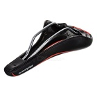 BGA-88 icycle Hollow Out PU Seat Saddle - Black + Red