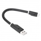 USB 2.0 to Micro USB Charging / Data Cable for Cellphones - Black (20cm)