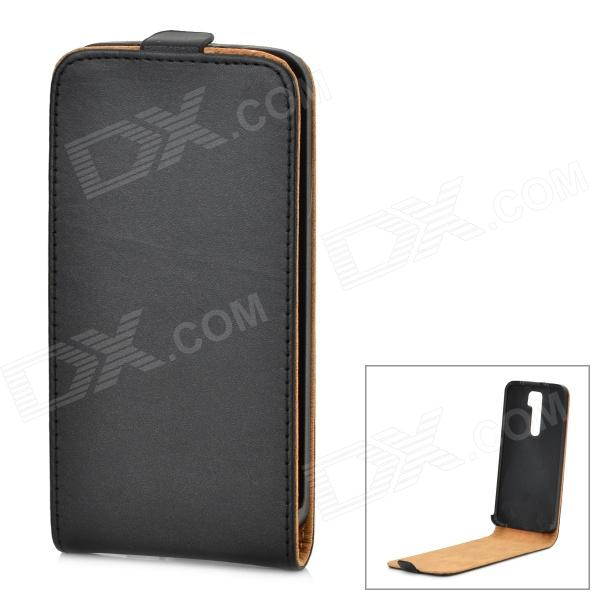 Protective Flip-Open PU Leather Case for LG Optimus G2 / D802 / F320 - Black protective flip open pu leather case for lg optimus g2 d802 f320 black