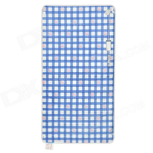 BoYang C09-1161-U120 Plaid Pattern Electric Cloth Blanket - Blue + White + Red (150 x 80cm) electric blanket automatic protection type thickening single electric blanket body warmer the heated blanket electric mat carpet