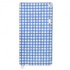 BoYang C09-1161-U120 Plaid Pattern Electric Cloth Blanket - Blue + White + Red (150 x 80cm)