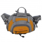 Creeper SY-082 Outdoor Travel Cycling Nylon Waist Bag - Orange+ Grey