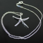 Starfish Style 925 Silver Women's Necklace - Silver