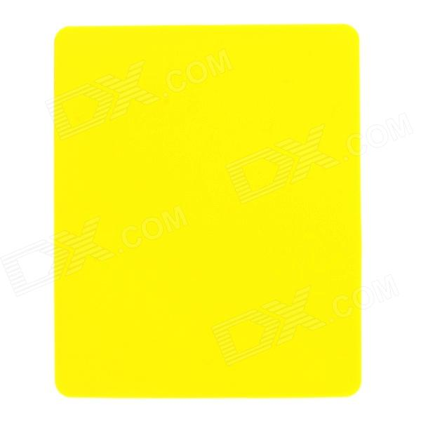 Stylish ABS Mouse Pad - Yellow