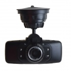 "AFANV AF902 2.7"" TFT CMOS 3.0 MP Wide Angle Car DVR Camcorder w/ G-sensor / TF / 4-IR LED - Black"