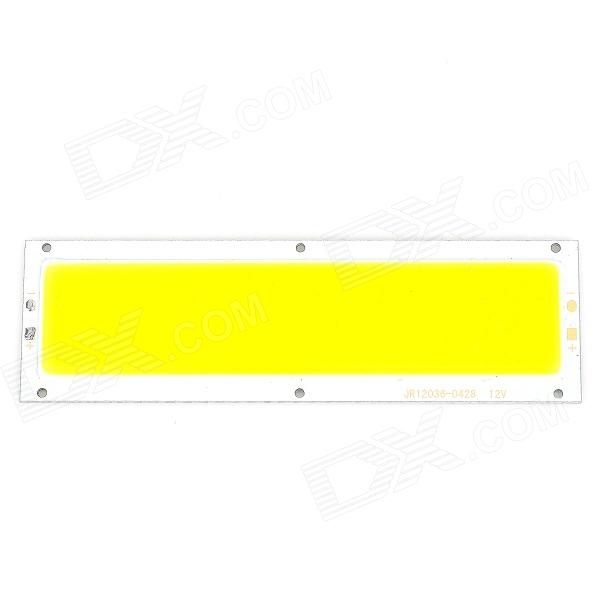 10W 949lm 2900K Warm White Light LED Lightning Bar - Silver + Yellow
