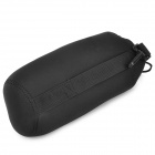 YY-152 Waterproof Protective Neoprene Bag Pouch for DSLR Lens - Black (XL)