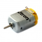 Jtron 130~16140 Toy Motor with Varistor - Silver + Yellow (6V / 12500 rpm / 2 PCS)