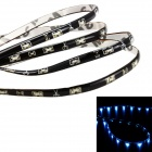 Merdia QPYP13T1C5 2.25W 120lm 470nm 15-SMD 1210 LED Blue Car Side Work Light Strip - (12V / 30cm)