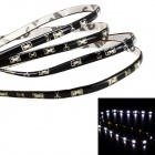 Merdia QPYP13T1C1 1.5W 70lm 6000K 15-SMD 1210 LED White Car Side Work Light Strip - (12V / 30cm)