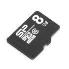 SP C10 8G Micro SDHC / TF Memory Card - Black + White (8GB / Class 10)