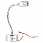 Flexible Aluminum Cree Q4 3W 180-Lumen Ultra Bright Reading Lamp Light