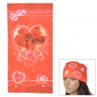 6032602 Outdoor Cycling Seamless Polyester Head Scarf for Women - Multicolored