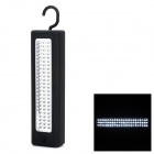 25W 900lm 5000K 72-LED White Car Inspection Light w/ Hook - Black
