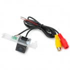 F-25 Waterproof Wired CMOS Rearview Camera for VW Car - Black