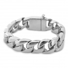 RUINUO GSA0619 Anti-radiation Titanium Steel Bracelet for Men - Silver