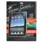 Clear Protective PET Screen Protector w/ Cleaning Cloth for Ipad 5 - Transparent