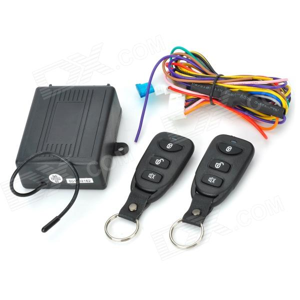 HAWKS 8113 No-key Entry System for Car - BlackCar Alarm Systems<br>BrandHAWKS Model8113 Quantity1 piece(s)MaterialABS ColorBlack FunctionEntry system without keys needed Transmit Frequency315~316 / 433.92 MHzQuiescent Current8.5 mATransmit Current8.5 mASpeaker PowerN/A Siren Current10A Siren VolumeN/A dBRemote Control RangeN/A mWorking Voltage12V Packing List1 x Main machine (15cm)2 x Remote controls (1 x CR2016 included)1 x Cable (45cm)1 x English manual<br>