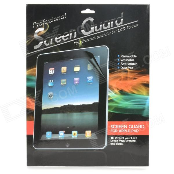 Matte Protective PET Screen Protector w/ Cleaning Cloth for Ipad 5 - Translucent