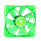 Evercool 9cm Lubricate Bearing 7-Blade Fan for Computer Chassis - Green