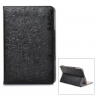 Cute Cartoon Style Protective PU Leather Case for Retina Ipad MINI - Black