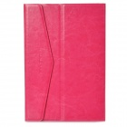 "Protective PU Leather w/ Solid Suction Cup Case for 7"" Tablet PC Ipad MINI - Deep Pink"
