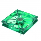 Evercool 14cm Lubricate Bearing 11-Blade Fan for Computer Chassis - Green